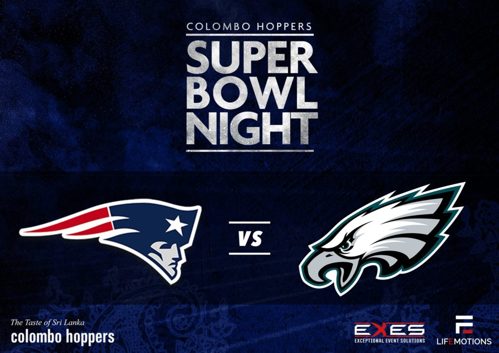 Super Bowl Night @ Colombo Hoppers