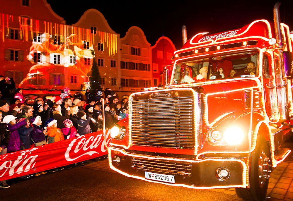 Coca-Cola WEIHNACHTSTRUCK TOUR / © KESCH Event & Promotion GmbH
