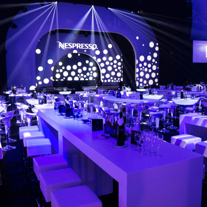 Nespresso MAGIC OF COLORS / © KESCH Event & Promotion GmbH