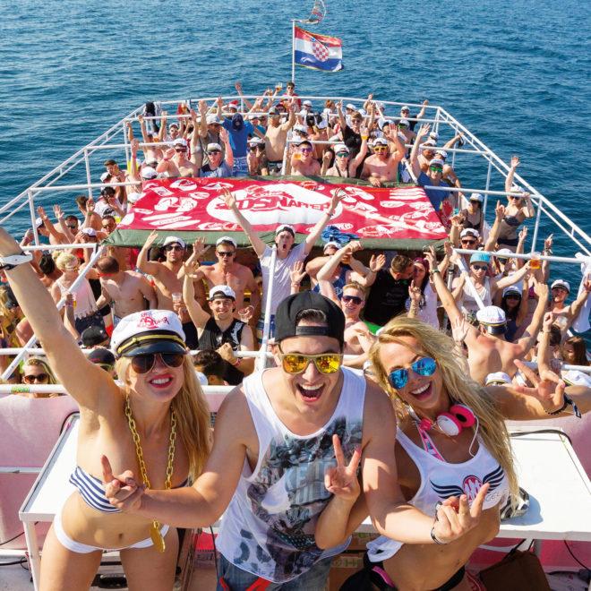 Spring Break Europe / Partyboot / © SPLASHLINE