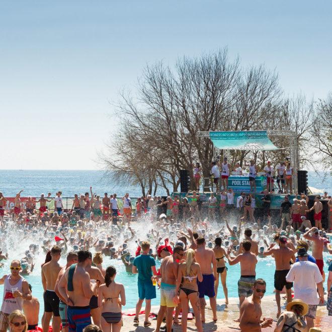 Spring Break Europe / Poolparty / © SPLASHLINE
