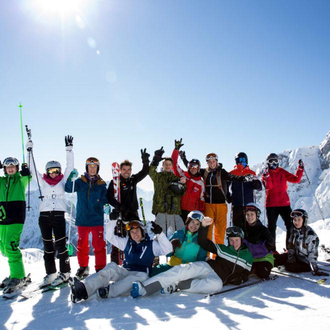 ÖBB S'COOL - Die Wintersportwoche / Gruppenfoto / © SPLASHLINE
